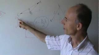 Geometria dedução fórmula altura de triângulo equilátero.MPG