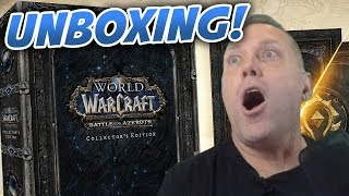 Swifty UNBOXING World of Warcraft Battle For Azeroth Collector's Edition!