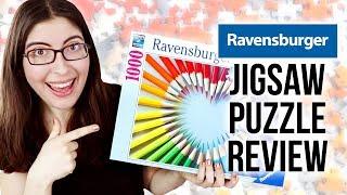Jigsaw Puzzle Review: Ravensburger 1000 Piece Puzzles