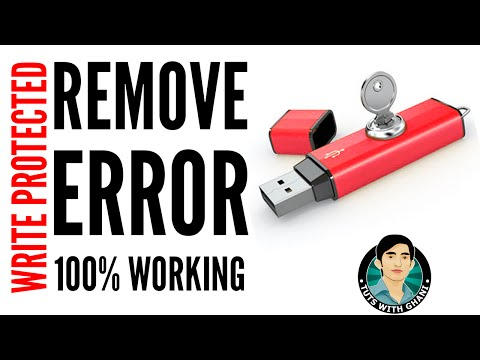 How To Fix USB/Flash Drive/SD Card Write Protected Issue