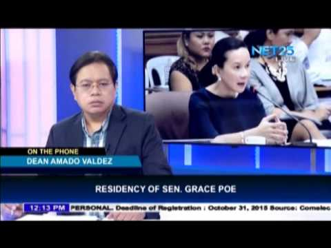 Law expert gives opinion about Senator Poe's residency