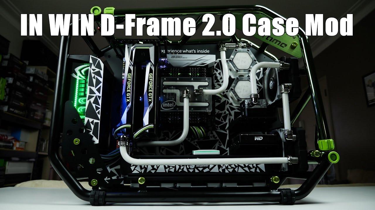 In Win D-Frame 2.0 - Ultimate Custom Build - YouTube