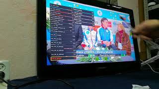 32 дюйма жк телевизор Самсунг ,зелёный негатив на цифровых каналах