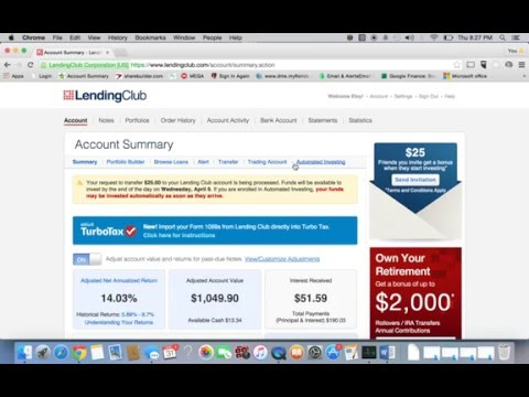 Lending Club Review and tips