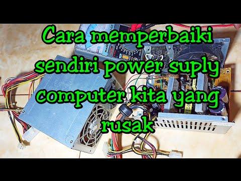 Cara memperbaiki power supply PC/ computer yang mati,part 2