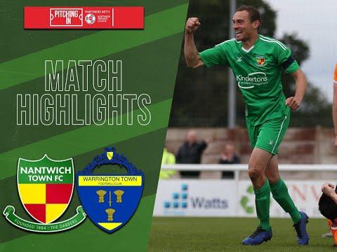 Nantwich Warrington Goals And Highlights