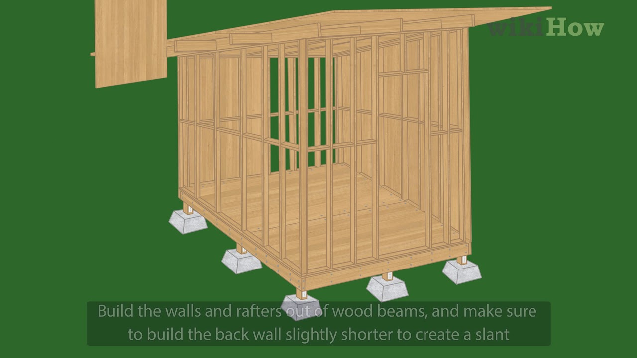 How To Build A Shed 10 Steps With Pictures Wikihow