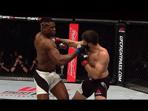 Francis Ngannou Top 5 Finishes