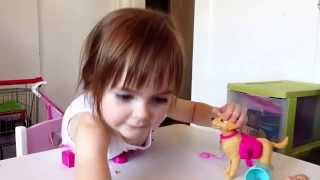 Barbie & Potty Training Taffy Dog by Jozie (and Quincy) summer 2014