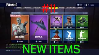 THE NEW FORTNITE DAILY ITEMS IN THE SHOP - #11