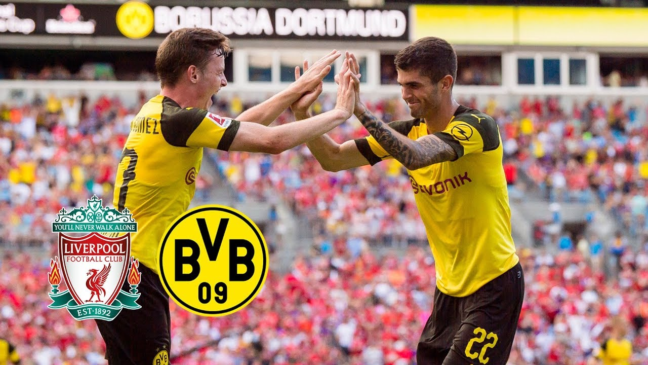Download Pulisic Show in Charlotte | FC Liverpool - BVB 1-3 | All Goals and Highlights