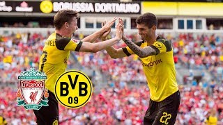 Pulisic Show in Charlotte | FC Liverpool - BVB 1-3 | All Goals and Highlights