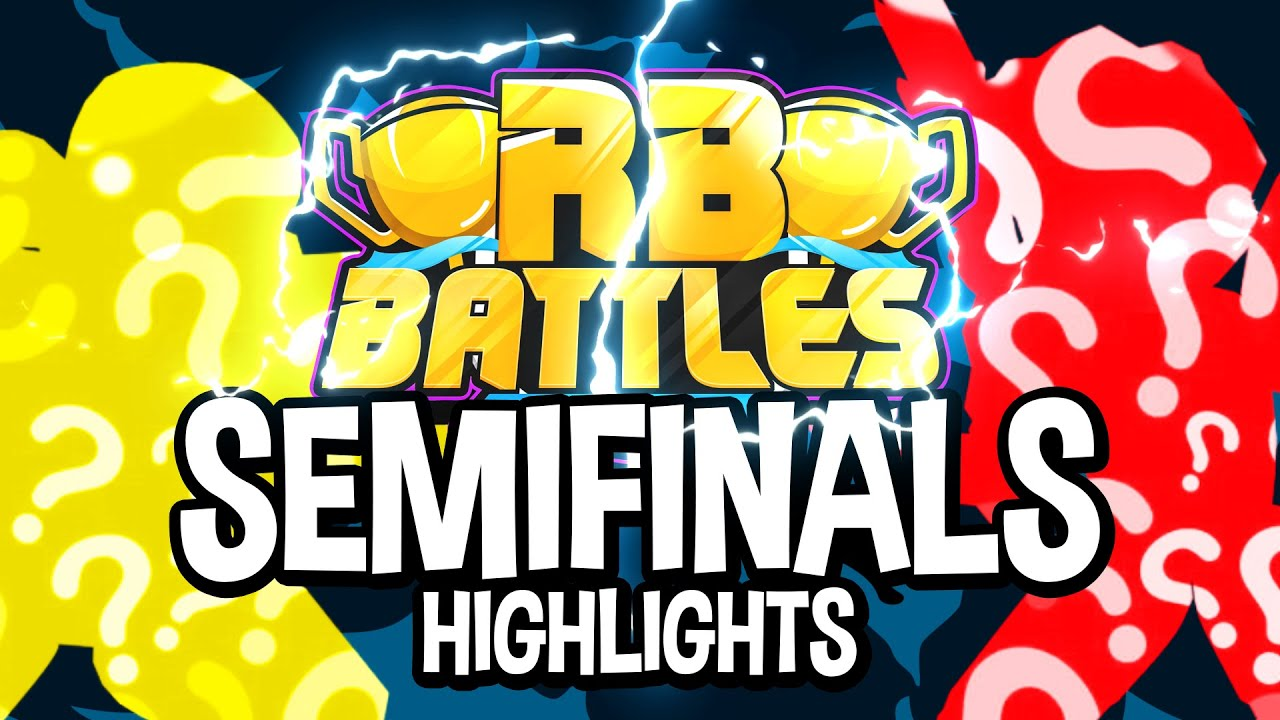 RB Battles Championship Semifinals Highlights & Funny Moments (Roblox)