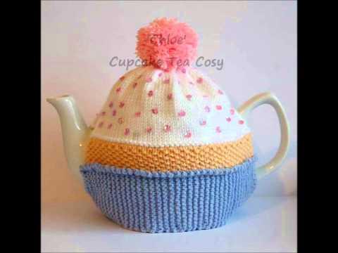 Chloe Cupcake Bithday Cake Vintage Dk Yarn Teapot Tea Room Cosy