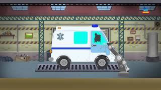 ambulancia vehículos emergencia para niños juego de formación Kids s Ambulance Formation