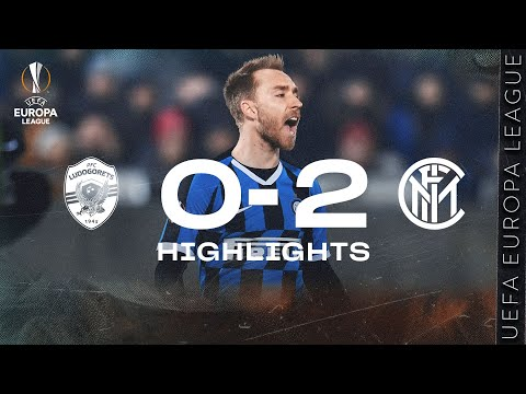 LUDOGORETS 0-2 INTER | HIGHLIGHTS | 2019/20 UEFA Europa League Round Of 32 - First Leg 🏆⚫🔵