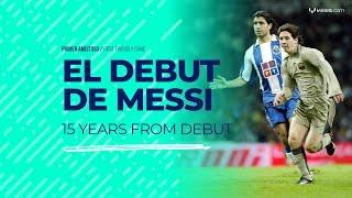 Messi - A 15 años de su debut en FC Barcelona