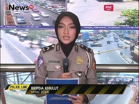 Pantauan Arus Lalu Lintas Terkini dari Sejumlah Titik Wilayah di Jakarta - Police Line 28/09