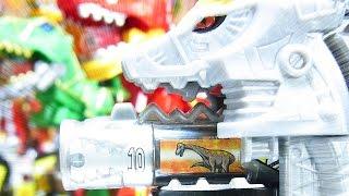 よみがえる Power Rangers Dino Super Charge Titano Charge Megazord ギガントキョウリュウジン