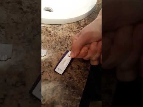 Home pregnancy test with blood (pricked finger) no urine