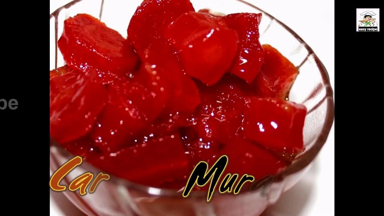 How To Make Carrot Murabba Recipe - Gajar Ka Murabba In Hindi Subtitle - By Easy Recipe
