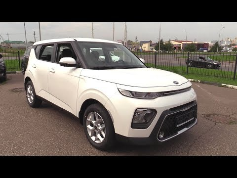2019 KIA SOUL. Start Up, Engine, and In Depth Tour.