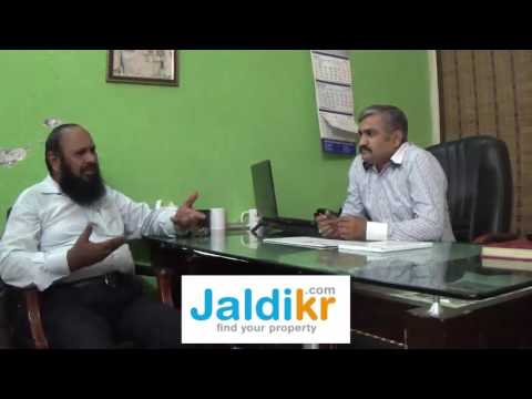 www.jaldikr.com interview Mr. Jawad Aslam  from AL-Qamar Estate Lahore - Rent Property in Pakistan