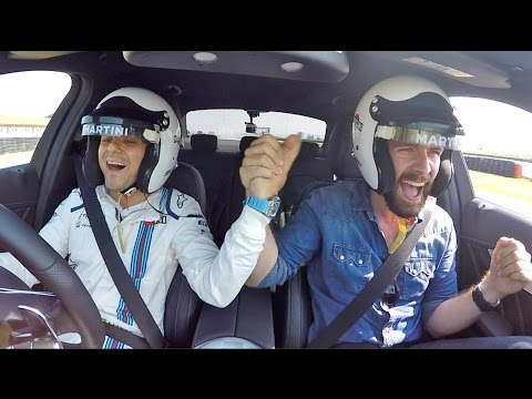 Drifting With Felipe Massa & Valtteri Bottas In A Mercedes C63 AMG