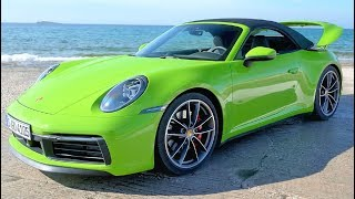 2020 Green Porsche 911 Carrera 4S Cabriolet - Pure Driving Pleasure