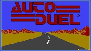 Autoduel gameplay (PC Game, 1985)