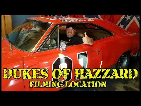 DUKES OF HAZZARD FILMING LOCATION - Covington, Georgia