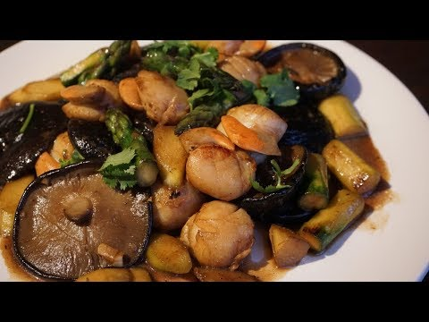 Stir Fried Scallops With Asparagus: Chinese New Year's Dish - Morgane Recipes