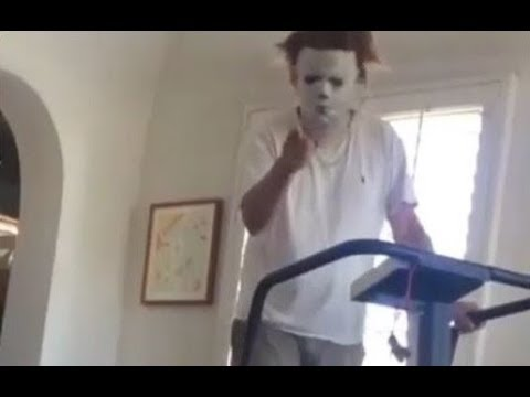 Nick Castle back as Michael Myers - Getting in Shape - Halloween 2018
