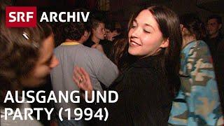 5 Jugendliche im Ausgang (1994) | Nachtleben, Freizeit und Hobbies der Jugend | SRF Archiv