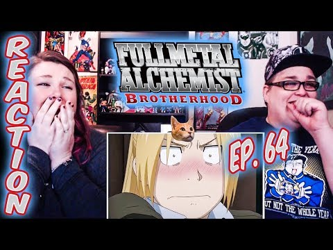 Fullmetal Alchemist: Brotherhood Episode 64 FINALE REACTION!!