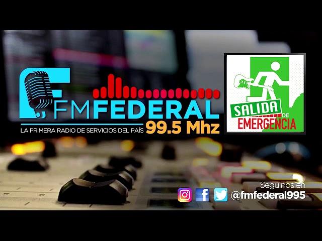 JAF EN FM FEDERAL 99.5 SALIDA DE EMERGENCIA