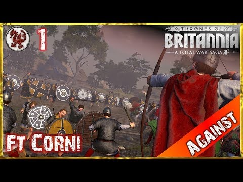 Lets play against: Total War Saga - Thrones of Britannia Gwynedd (German | HD) #1