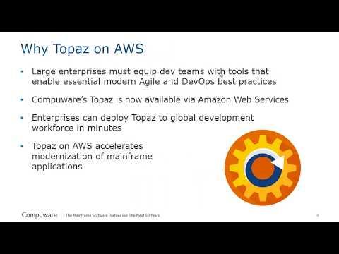 Topaz on AWS - Compuware