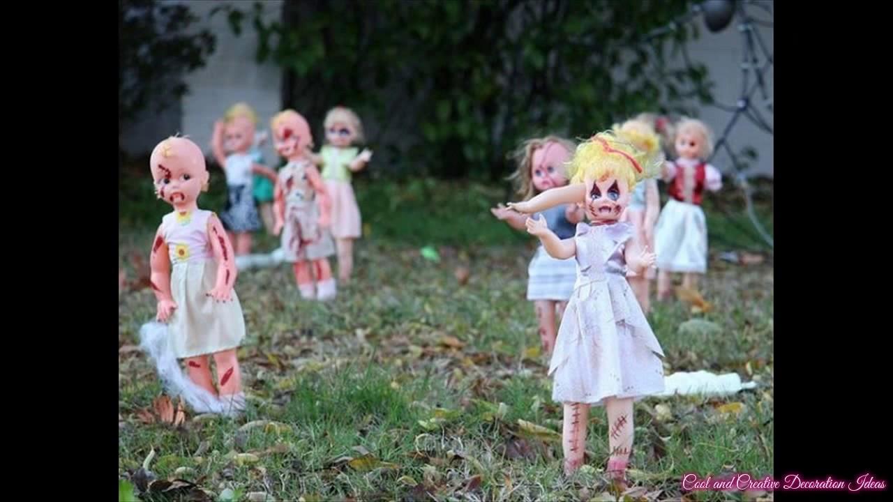 simple diy halloween yard decorations ideas