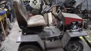 Самодельный задне приводный трактор + косилка / Часть 2