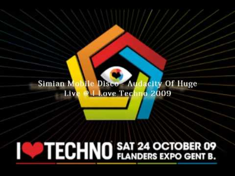 Simian Mobile Disco - Audacity Of Huge Live @ I Love Techno 2009