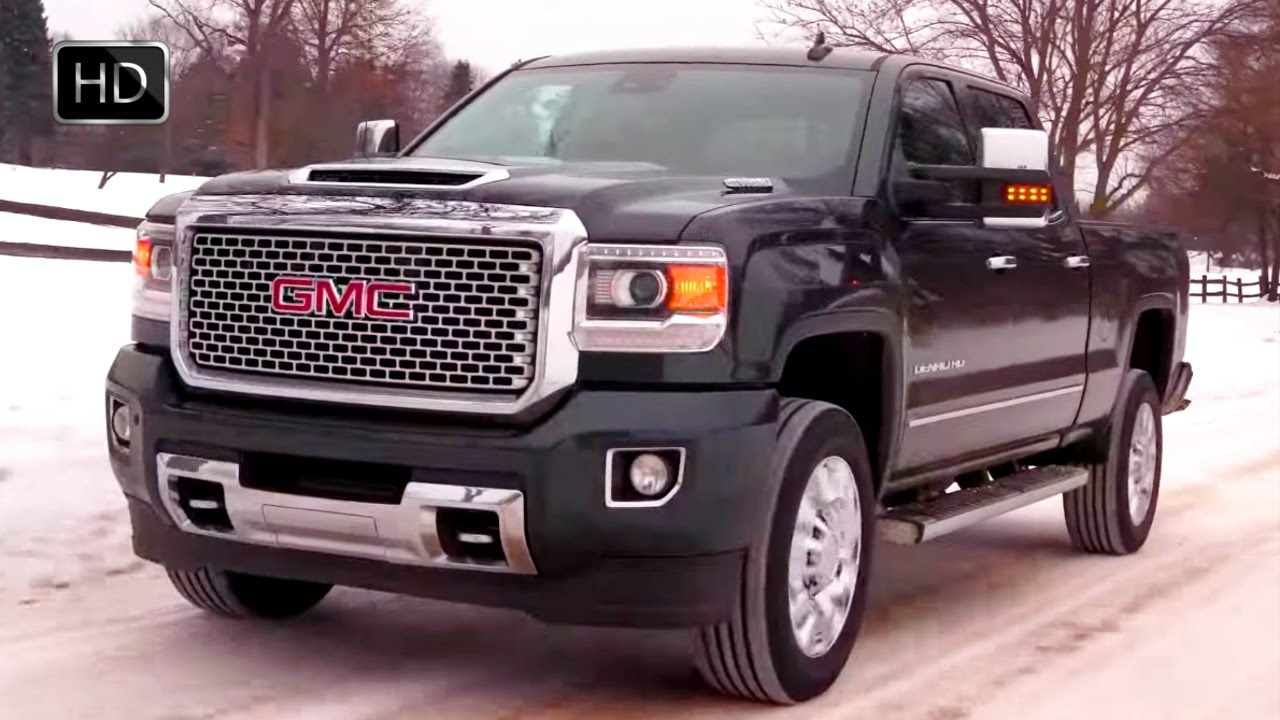 2017 gmc sierra 2500 denali hd heavy duty pickup truck design drive hd youtube. Black Bedroom Furniture Sets. Home Design Ideas