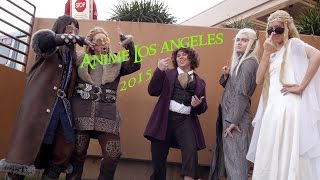 Anime Los Angeles 2015 Cosplay Music Video