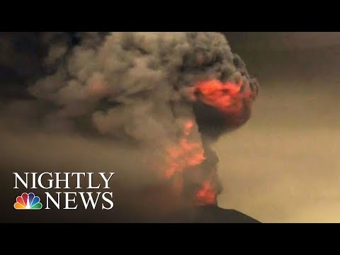 Download Youtube: Bali Volcano Eruption Upgraded To Highest Alert   NBC Nightly News