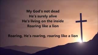 Newsboys - God's Not Dead (Lyrics)