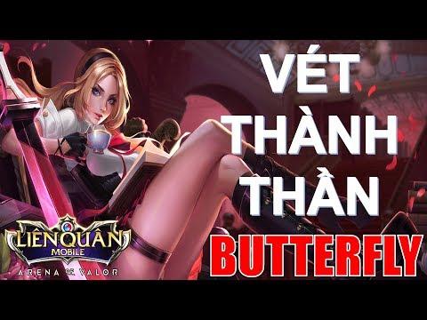 Trở Thành Trùm Vét Mạng ăn Megakill Quá Dễ Với BUTTERFLY đi Rừng   Arena Of Valor Butterfly
