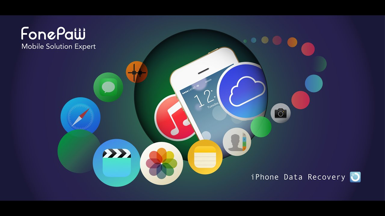 FonePaw iPhone Data Recovery Guide  YouTube