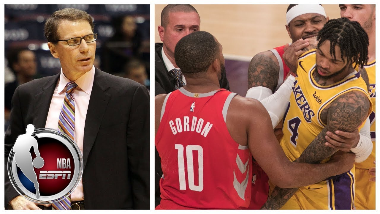 Breaking down Rockets vs Lakers brawl suspensions ...