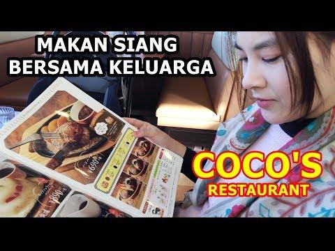 Makan Siang Bersama Keluarga Jepang | Coco's Restaurant