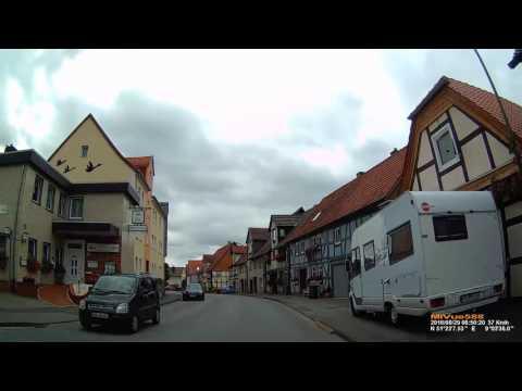 D: Wetterburg. Stadt Bad Arolsen. Landkreis Waldeck-Frankenberg. Ortsdurchfahrt. August 2016